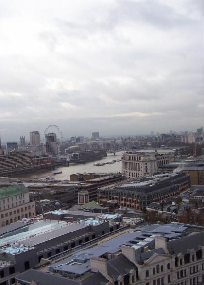 London view of the Thames