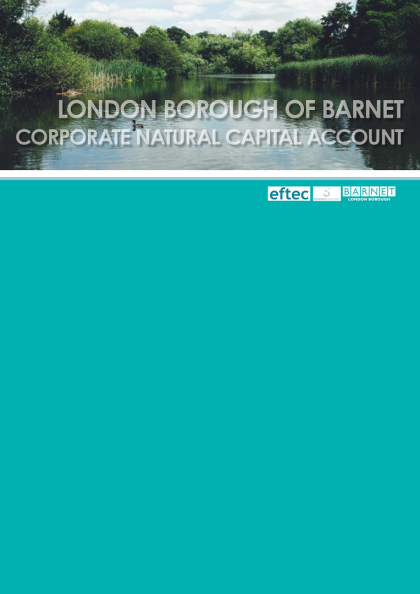CNCA for London Barnet report cover