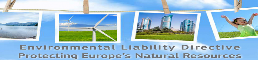Environmental Liability Directive Protecting Europe's Natural Resources brochure cover