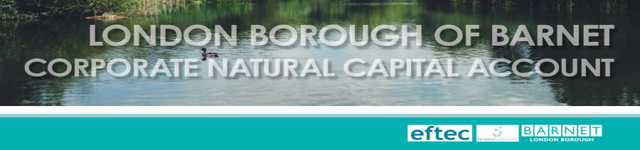 London Borough of Barnet Corporate Natural Capital Account cover